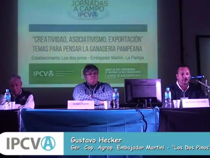 REVIVA EN VIDEO LA JORNADA </br> A CAMPO DEL IPCVA EN LA PAMPA
