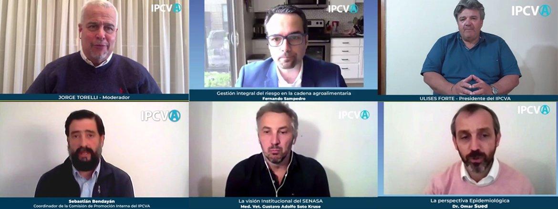 """Reviva en video el primer taller virtual del IPCVA:<br>""""Buenas prácticas en la industria alimenticia"""""""