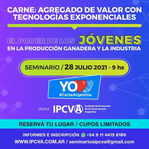 Imagen EN DIRECTOSeminario del IPCVA para jóvenes de la cadena: Para ver la transmisión de la jornada  EN DIRECTO  -