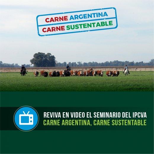 """Reviva en video el seminario nacional: """"Carne Argentina, Carn..."""